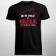 Nikt nie zobaczy tej koszulki bo siedzę w domu - męska koszulka z nadrukiem