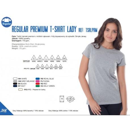 T-shirt damski premium 170g