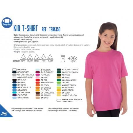 Klasyczna koszulka dziecięca