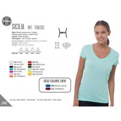 Koszulka damska v-neck Sicilia