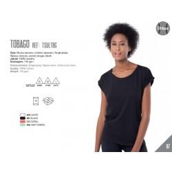 Koszulka damska z szerszym dekoltem Tobago