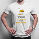 Wolny W związku Zajęty przez atrakcyjną magazynierkę - męska koszulka z nadrukiem