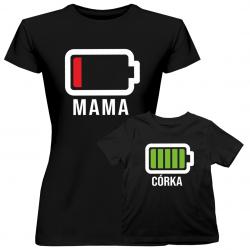 Bateria - Koszulka dla mamy i córki