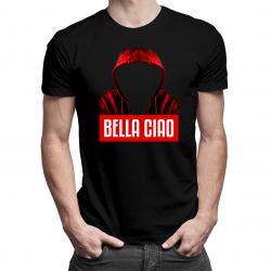 Bella Ciao - męska koszulka z nadrukiem