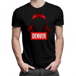 Denver - męska koszulka z nadrukiem