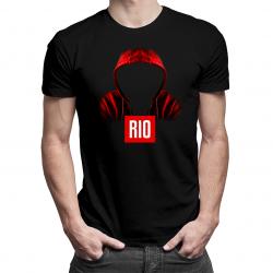 Rio - męska koszulka z nadrukiem