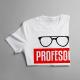 Profesor - męska koszulka z nadrukiem