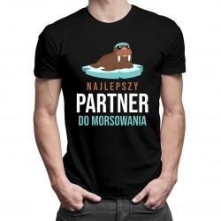 Najlepszy partner do morsowania - męska koszulka z nadrukiem
