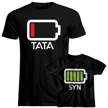 Bateria - Koszulka dla taty i syna