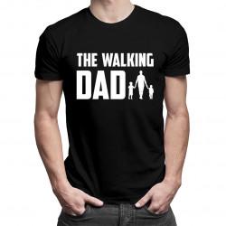 The walking dad - męska koszulka z nadrukiem