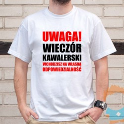 CBŚ - męska koszulka z nadrukiem