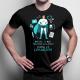Myślisz, że masz trudny zawód? Spróbuj być lekarzem - męska koszulka z nadrukiem