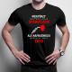 Niektórzy nazywają mnie kierowcą spawaczem - męska koszulka z nadrukiem