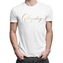 Chrzestny - męska koszulka z nadrukiem