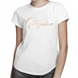 Chrzestna - damska koszulka z nadrukiem