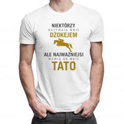 Niektórzy nazywają mnie dżokejem - męska koszulka z nadrukiem