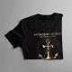 Spokojne morze nie zrobi z ciebie dobrego żeglarza - męska koszulka z nadrukiem