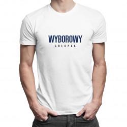 Wyborowy chłopak - męska koszulka z nadrukiem