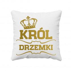 Król drzemki - poduszka z nadrukiem