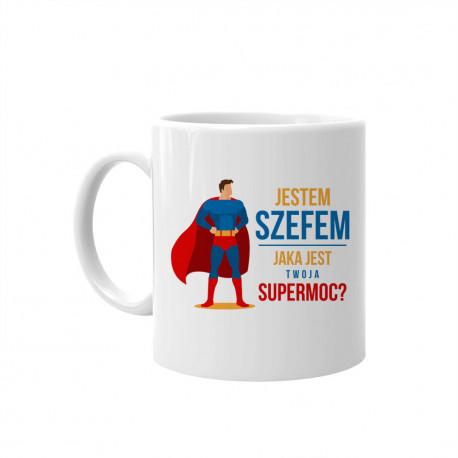 Jestem szefem - jaka jest twoja supermoc? - kubek