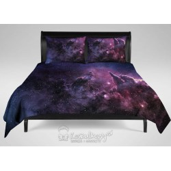 Cosmogalaxy nebula prime - pościel z nadrukiem