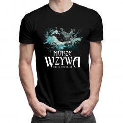 Morze wzywa - muszę wyruszać - męska koszulka z nadrukiem