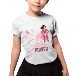 Sister power - koszulka dziecięca z nadrukiem