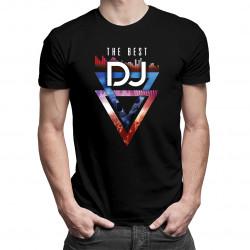 The best DJ - męska koszulka z nadrukiem