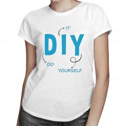 Do it yourself - damska koszulka z nadrukiem