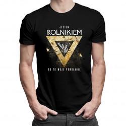 Jestem rolnikiem, bo to moje powołanie - męska koszulka z nadrukiem