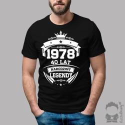 Narodziny legendy - 40 lat! - koszulka