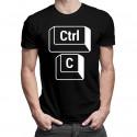 Ctrl+C - Koszulka dla taty z nadrukiem