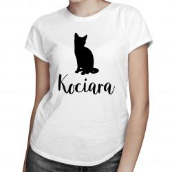 Kociara - damska koszulka z nadrukiem