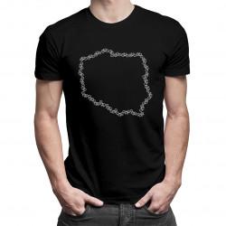 Rowerowa Polska - damska lub męska koszulka z nadrukiem