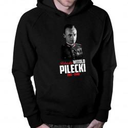 Rotmistrz Witold Pilecki - męska bluza z nadrukiem