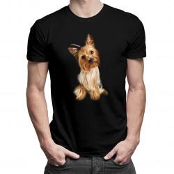 York - męska koszulka z nadrukiem