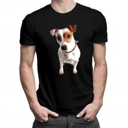 Jack Russell terrier - męska koszulka z nadrukiem