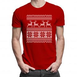 Koszulka świąteczna - męska koszulka z nadrukiem