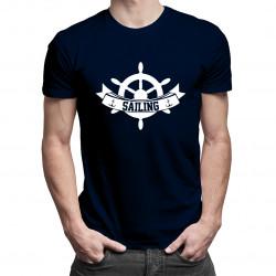 Sailing - męska koszulka z nadrukiem