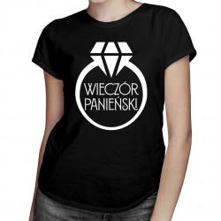 Wieczór panieński v.2 - damska koszulka z nadrukiem