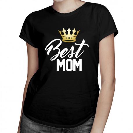 Best MOM - damska koszulka z nadrukiem