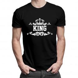 King - męska koszulka z nadrukiem