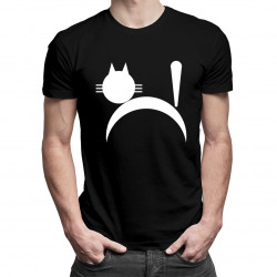 Koszulka z kotem - damska lub męska koszulka z nadrukiem