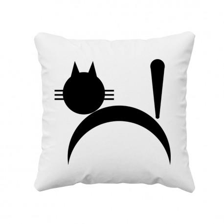 Kot - poduszka z nadrukiem