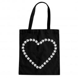 Serce v.2 - torba z nadrukiem