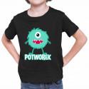 Potworek - koszulka dziecięca z nadrukiem