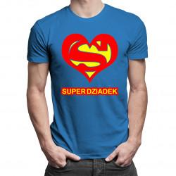 Super dziadek - męska koszulka z nadrukiem