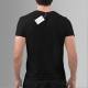 Once you go black, you never go back - męska koszulka z nadrukiem