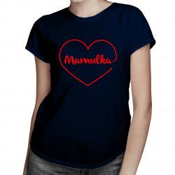 Mamulka - damska koszulka z nadrukiem