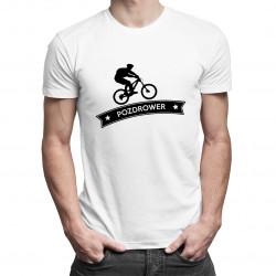 Pozdrower - męska koszulka z nadrukiem